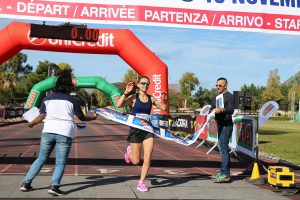 Arrivo prima donna maratona